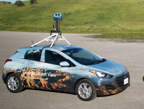 Google Street View – ciekawostka onowych kamerach loading=