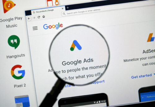 Dodatkowe budżety reklamowe wGoogle Ads  dla małych iśrednich przedsiębiorstw loading=