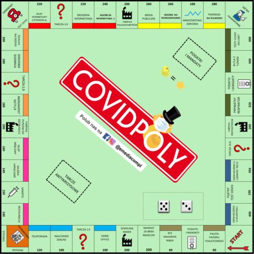 Covidpoly 2020! Wszystkiego dobrego wNowym Roku 2021! loading=