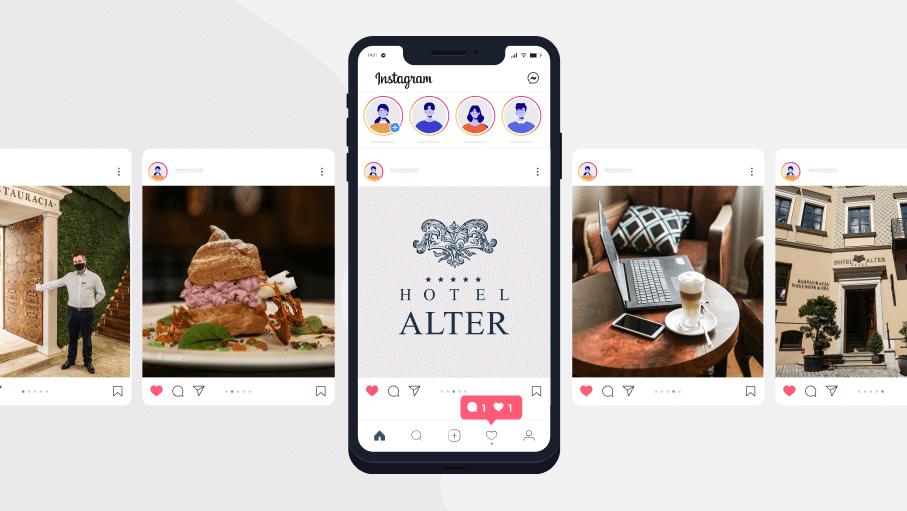 Profil Instagram Hotel Alter